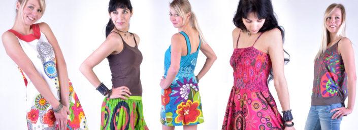webový banner oblečení SANU BABU