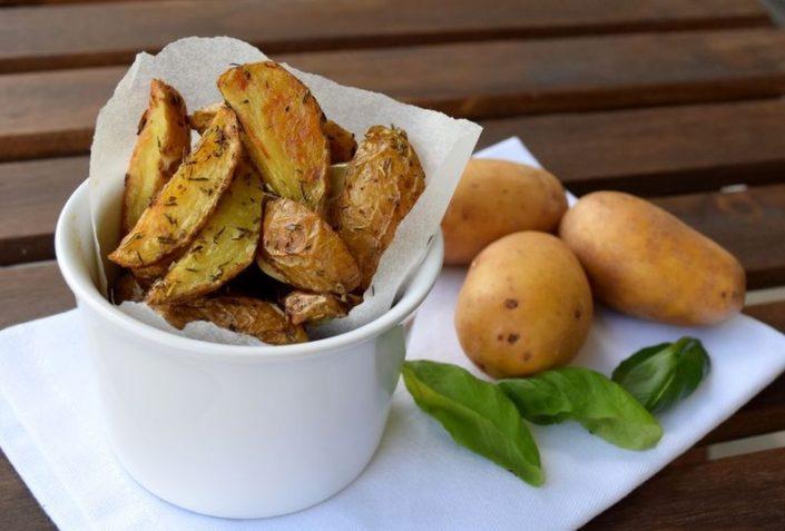 Fotografie jídla, tymiánové minibrambůrky