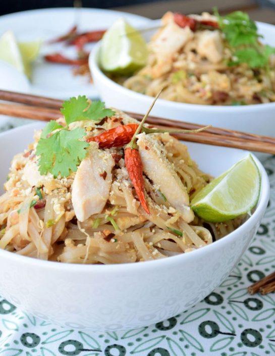 Fotografie jídla, Pad Thai