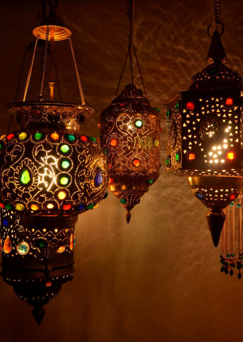 Image fotografie arabské lampy