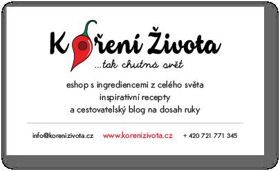 Návrh vizitka KořeníŽivota.cz