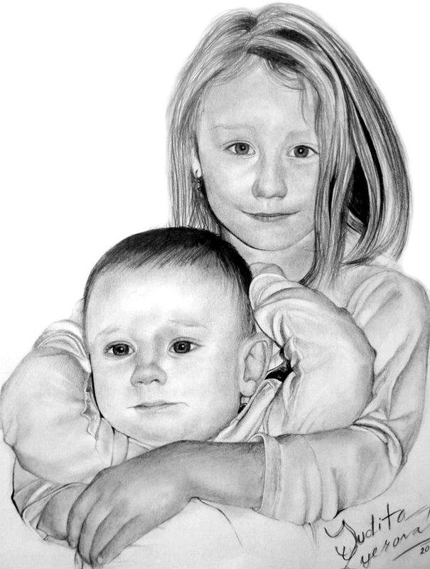 Autorska Malba A Kresba Na Zakazku Judita Lyerova