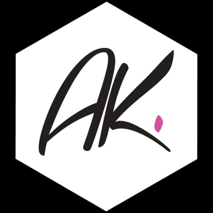 Návrh loga pro AK šperky
