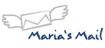 logo Maria's Mail malé