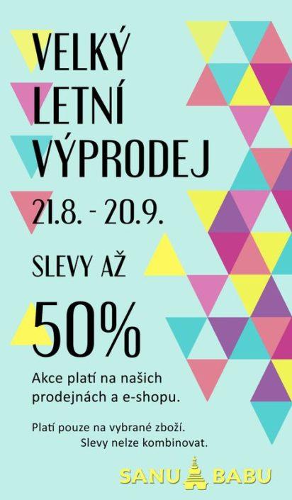 Návrh na plakát pro výprodej SANU BABU