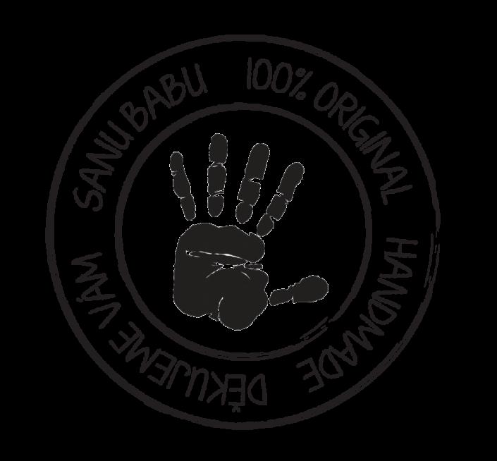 návrh na razítko 100% original SANU BABU