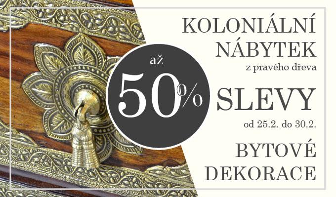 Návrh na velký tištěný banner pro akci slevy na nábytek SANU BABU