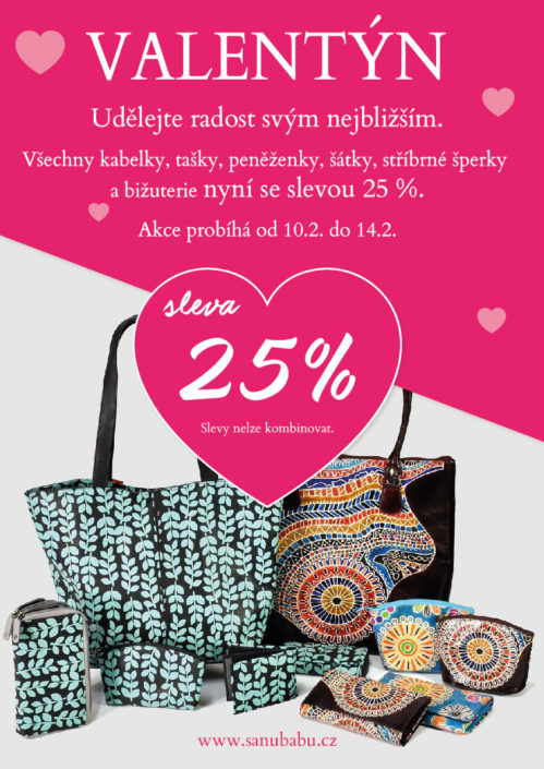 Návrh plakátu pro akci Valentýn SANU BABU
