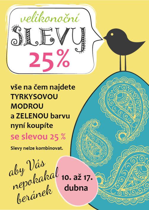 Návrh plakátu pro akci Velikonoce SANU BABU