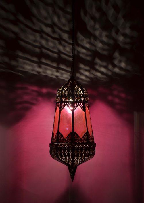 Produktová fotografie arabská lampa