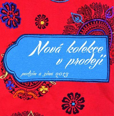 Reklamní banner pro novou kolekci SANU BABU